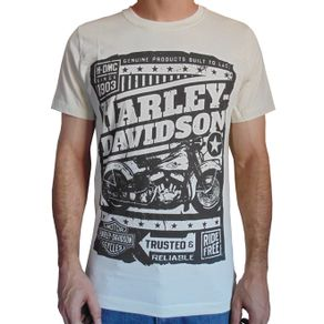 camiseta-harley-davidson-bege-masculino