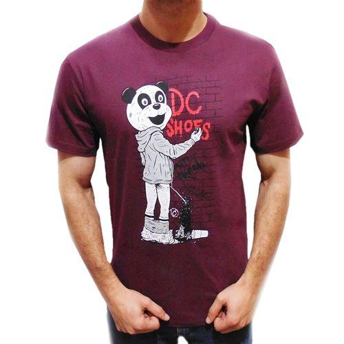 camiseta-dc-core-cliver-panda-vinho
