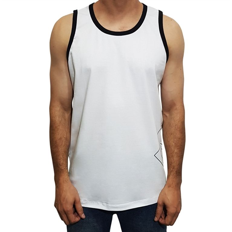 baf00ea29449ce Camiseta Regata DC County Tank Branca - galleryrock