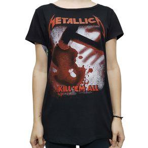 camiseta-babylook-metallica-kill-em-all