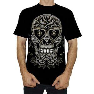 camiseta-tattoo-skull-and-roses-ts1185