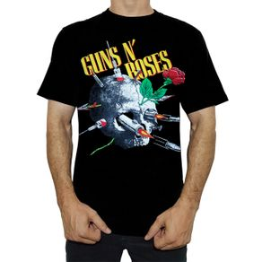 camiseta-guns-n-roses-needle-skull-ts1097