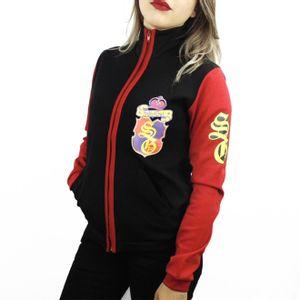 blusa-feminina-preta-mangas-vermelha