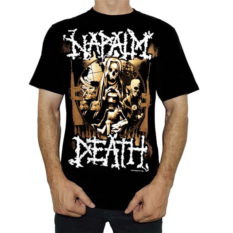 Camiseta Napalm Death BT3246 - galleryrock