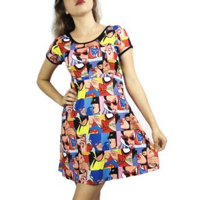 vestido-super-herois-pop-art
