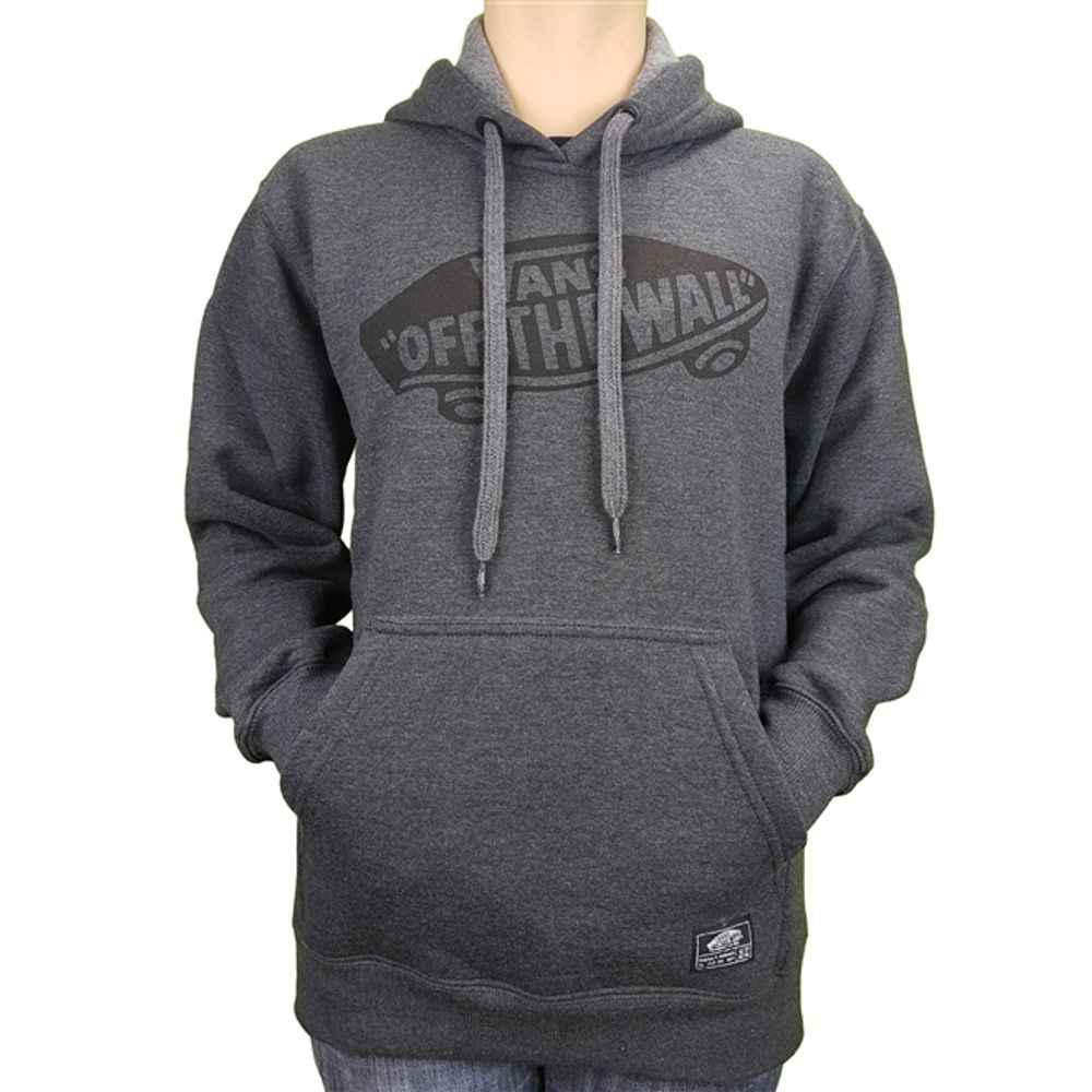 939779d86a9 Moletom Vans Classic Pullover Hoodie Athletic Heather Juvenil ...