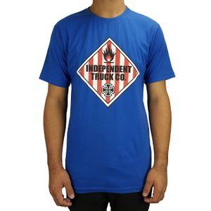 camiseta-independent-warning-azul