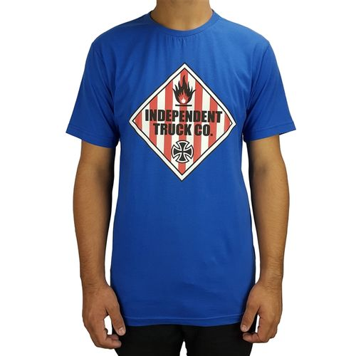 camiseta-independent-warning-azul