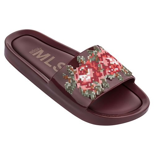 Melissa-Beach-Slide-Flower-Bordo