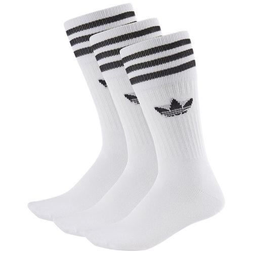 Meia-Adidas-Solid-Crew-3-Pares-Branco