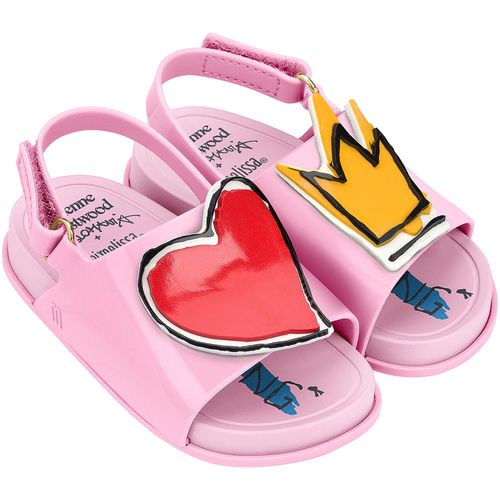 Mini-Melissa-Beach-Slide-Sandal---Vivienne-Rosa-Vermelho-L212A