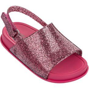 Mini-Melissa-Beach-Slide-Sandal-Rosa-Glitter-L213