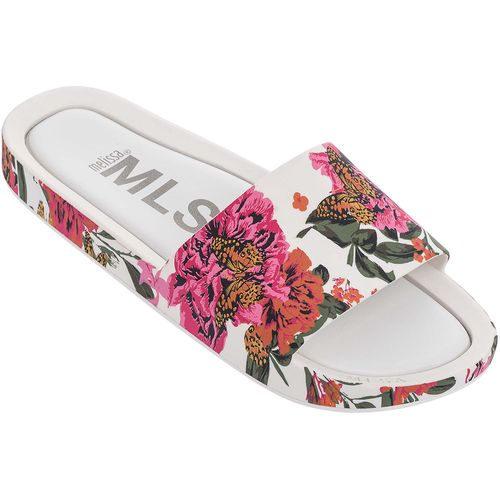 Melissa-Beach-Slide-Iii-Branco-Rosa-L113n