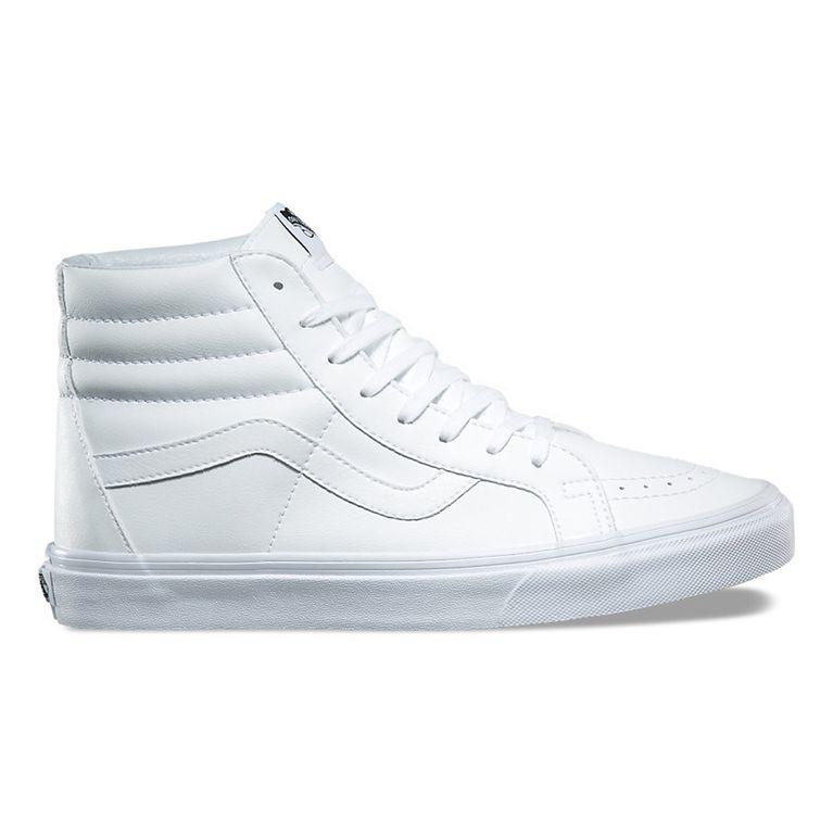 50b0b6eed5 Tênis Vans Sk8 Hi Reissue Classic Tumble True White Branco - galleryrock