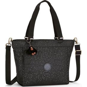 Bolsa-New-Shopper-S-Preta-Black-Scale-Kipling