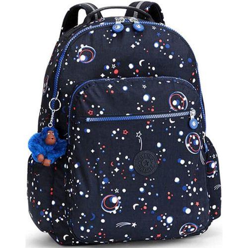 Mochila-Escolar-Seoul-up-Azul-Galaxy-Party-Kipling