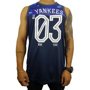 Machao-New-Era-Basketball-Tank-New-York-Yankees-Marinho