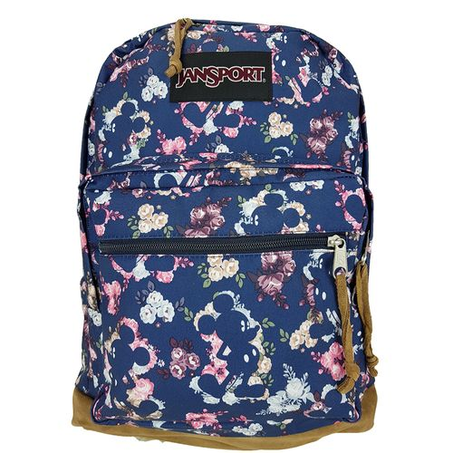 MOCHILA-JANSPORT-DISNEY-RIGHT-PACK-EXPRESSIONS-MICKEY-FLORAL