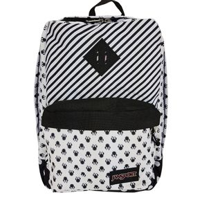 MOCHILA-JANSPORT-DISNEY-SUPER-FX-MINNIE-WHITE-BOW-DOT