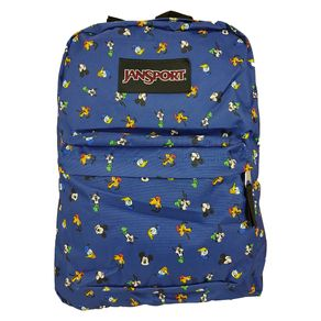 MOCHILA-JANSPORT-DISNEY-SUPERBREAK-GANG-DOT-AZUL