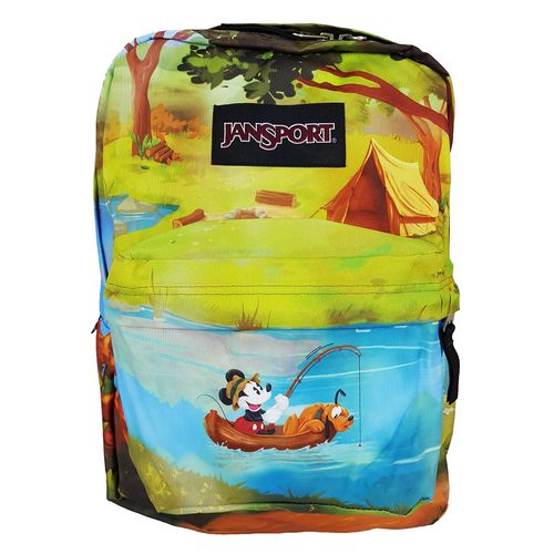 MOCHILA-JANSPORT-DISNEY-HIGH-STAKES-FLOREST-CAMP