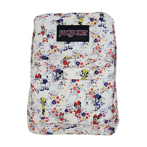 MOCHILA-JANSPORT-DISNEY-SUPERBREAK-MINNIE-TINY-FLORAL
