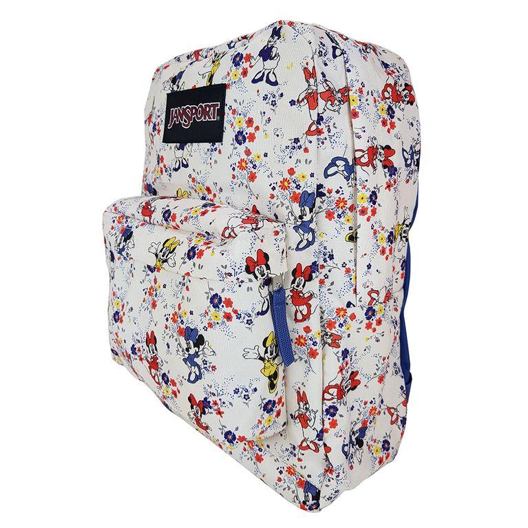 549795b4217 Mochila Jansport Disney Superbreak Minnie Tiny Floral - galleryrock