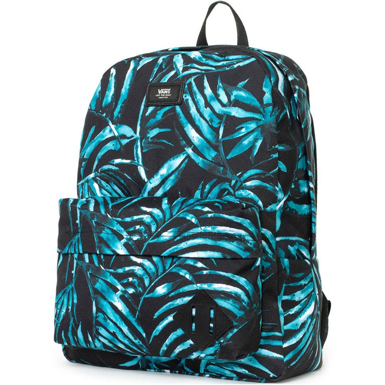 827c00a345e42 Mochila Vans Old Skool II Backpack Black Water Palm - galleryrock