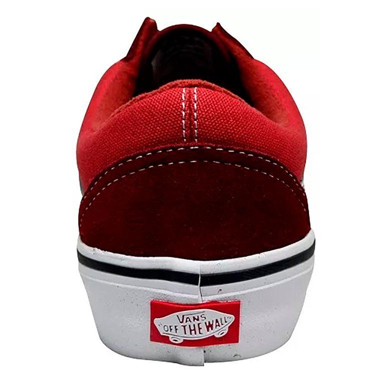 Tenis Vans Old Skool Pro Two Tone Vermelho Bordo - galleryrock 02758f5646cb7