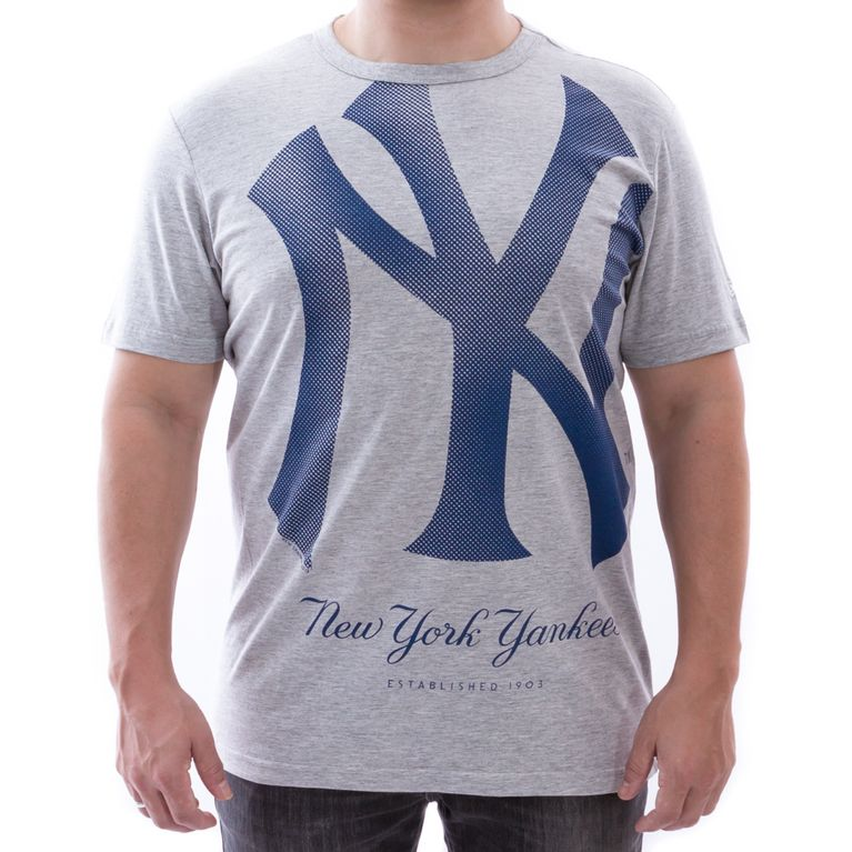 Camiseta New Era New York Yankees Reticula 3 Mescla - galleryrock 9850df77971