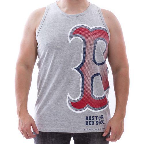 Camiseta-Regata-New-Era-Nac-3-Boston-Red-Sox-Cinza