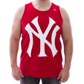 Camiseta-Regata-New-Era-Permanente-New-York-Yankees-Vermelho