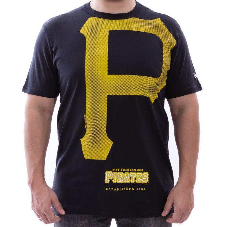 Camiseta New Era Reticula 3 Pittsburgh Pirates - galleryrock 42ed1444db5