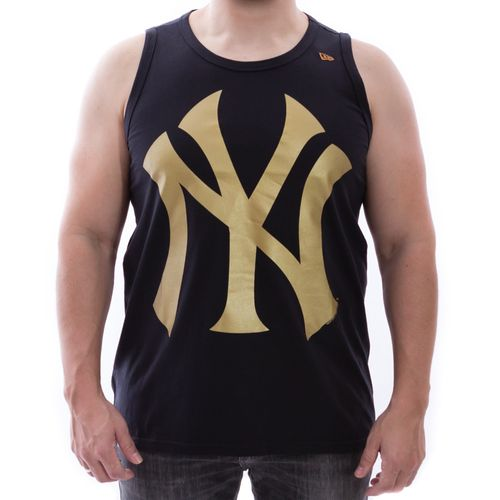 Camiseta-Regata-New-Era-Permanente-Ba-New-York-Yankees-Preto-Dourado