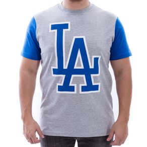 Camiseta-New-Era-Los-Angeles-Dodgers-Mescla
