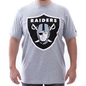 Camiseta-New-Era-Oakland-Raiders-NFL-Cinza
