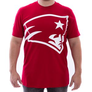 Camiseta-New-Era-New-England-Patriots-Oversize-Vermelha