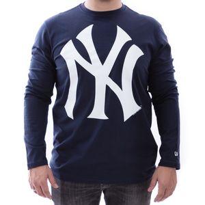 Camiseta-New-Era-New-York-Yankees-MLB-Manga-Longa-Marinho