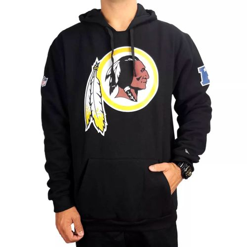 moletom-new-era-capuz-washington-redskins-preto