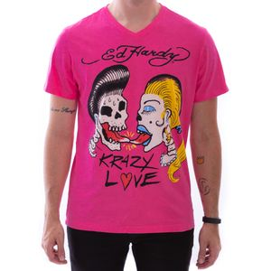 camiseta-ed-hardy-krazy-love-rosa-masculino