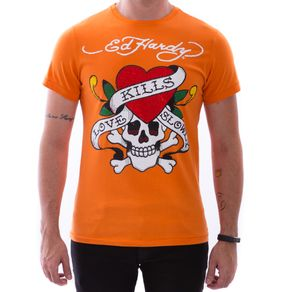 camiseta-ed-hardy-love-kills-slowly-laranja-masculino