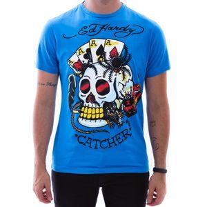 camiseta-ed-hardy-caveira-catcher-azul-masculino