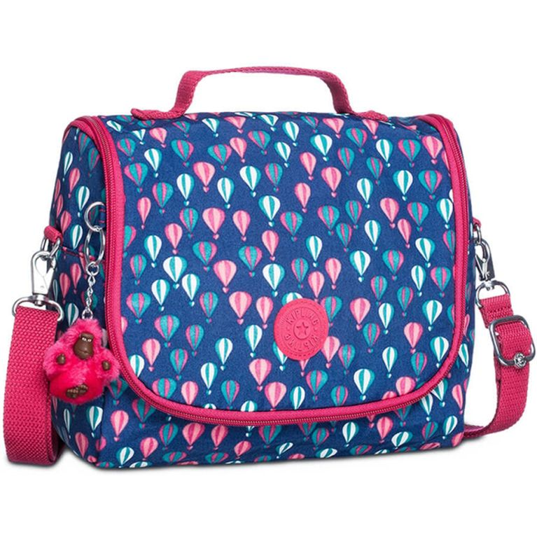 1cfc431fa Lancheira Kipling New Kichirou Azul Rosa Balloon PR - galleryrock