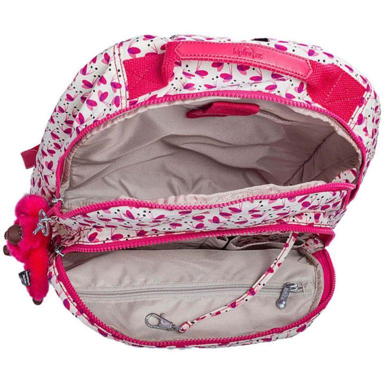 d3bdff4ff Mochila Kipling Gouldi Branca Rosa Pink Wings - galleryrock