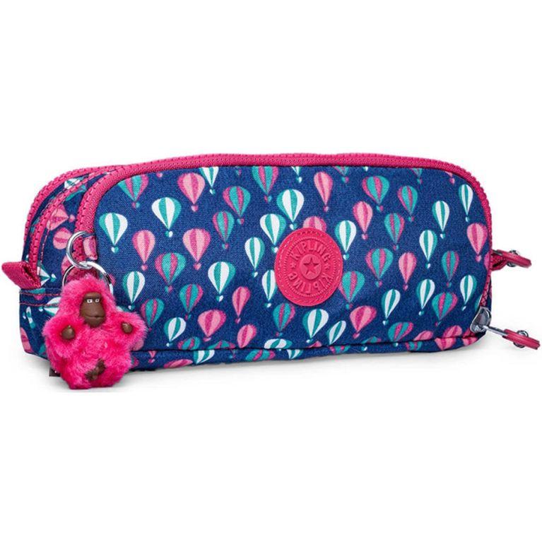 83efddd57 Estojo Kipling Gitroy Azul Rosa Balloon PR - galleryrock