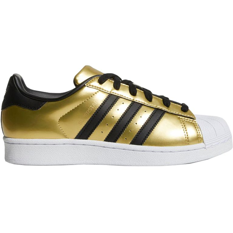 c237df535bb Tenis Adidas Superstar Gold Black Dourado - galleryrock