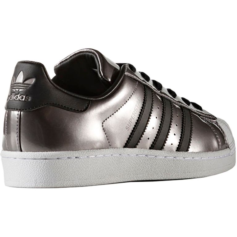 33c191b118b Tênis Adidas Superstar Core Black Prata - galleryrock
