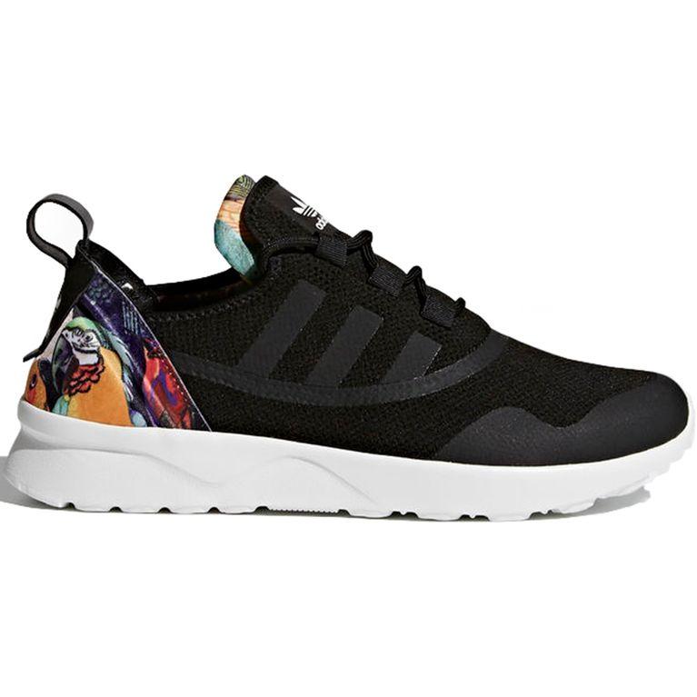 8a21640608a Tenis Adidas ZX Flux ADV Virtue Black Preto - galleryrock