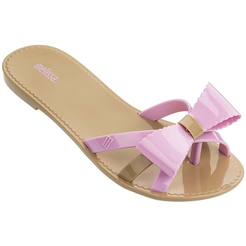 Melissa-Chinelo-Fluffy-II-Bege-Rosa-GL239