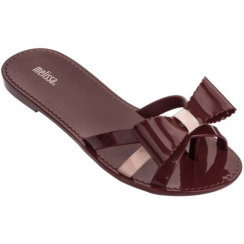 Melissa-Chinelo-Fluffy-II-Bordo-Rosa-GL236